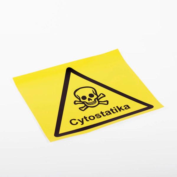 Skylt Cytostatika